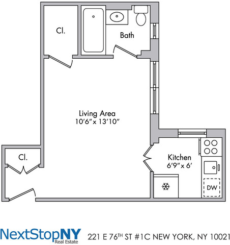 221 East 76th Street, Unit 1C Image #1
