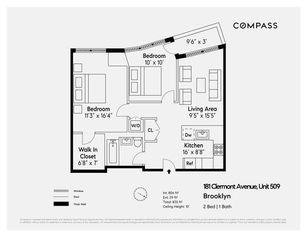 174 Vanderbilt Avenue Unit 509 Brooklyn Ny 11205