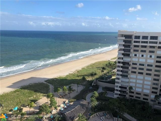 5000 North Ocean Boulevard, Unit 1709 Lauderdale-by-the-Sea, FL 33308
