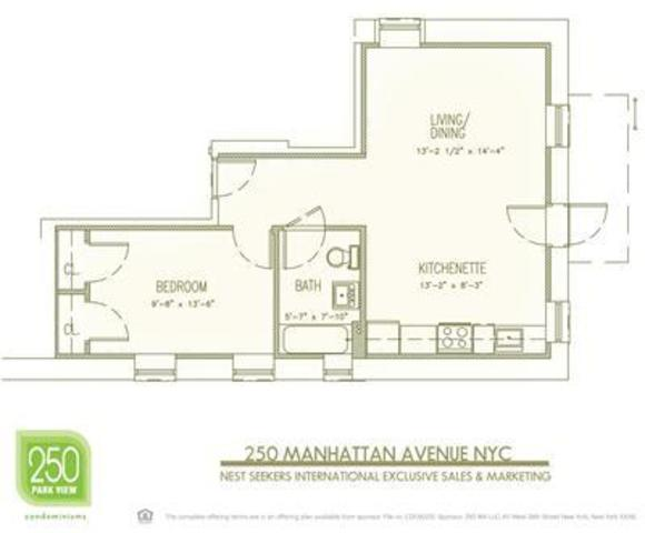 250 Manhattan Avenue, Unit CJ Image #1