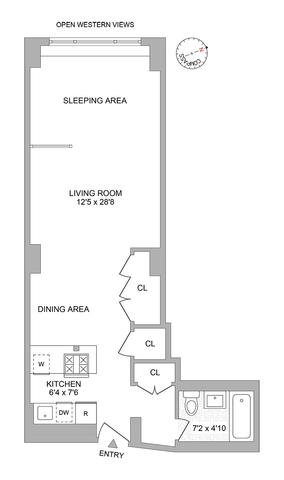 61 Jane Street, Unit 6N, Manhattan, NY 10014 | Compass
