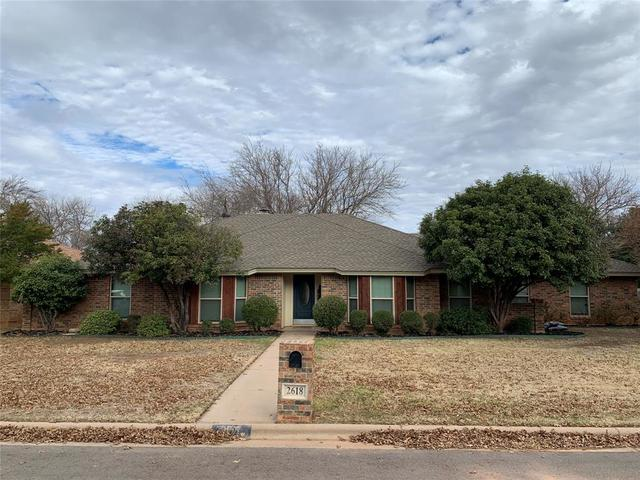 2618 Meadow Lake Drive Abilene, TX 79606