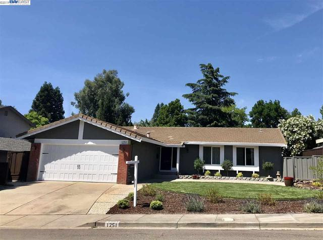 1251 Vintner Way Pleasanton, CA 94566