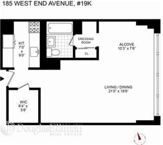 185 West End Avenue, Unit 19K Image #1