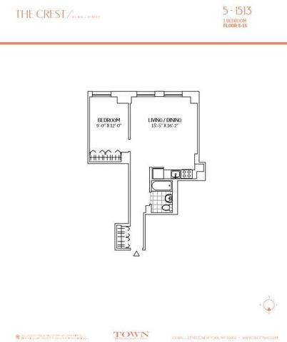 63 Wall Street, Unit 1413 Image #1