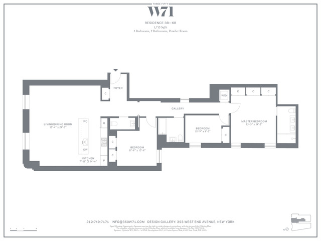 350 West 71st Street, Unit 3B Manhattan, NY 10023