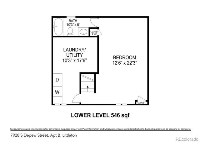 7928 South Depew Street, Unit B Littleton, CO 80128