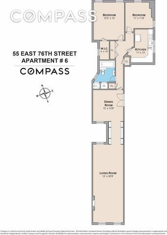 55 East 76th Street, Unit 6 Manhattan, NY 10021