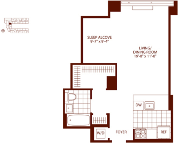 450 West 42nd Street, Unit 45M Image #1