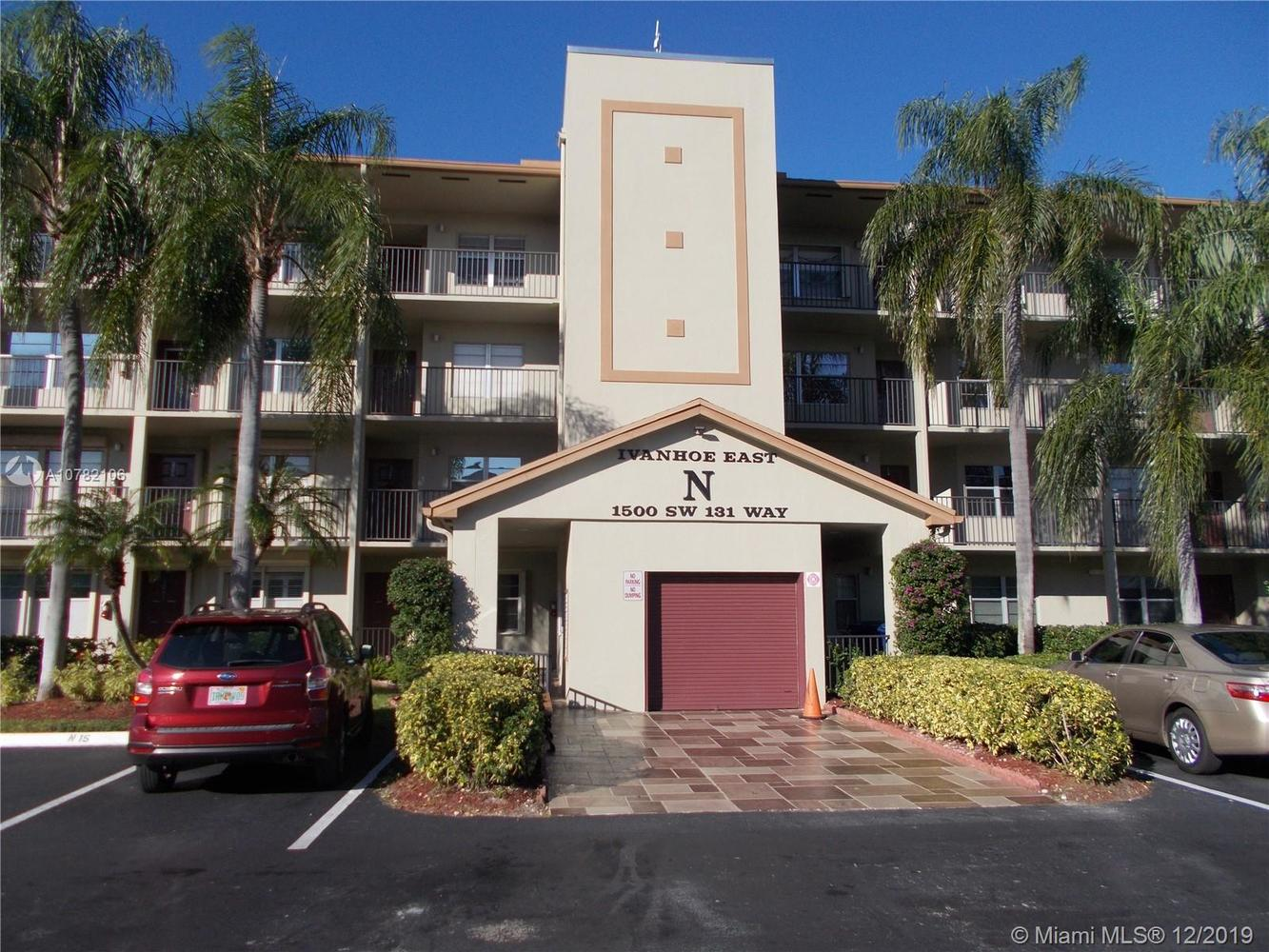 1500 Southwest 131st Way, Unit 103N Pembroke Pines, FL 33027