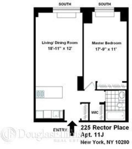 225 Rector Place, Unit 11J Image #1