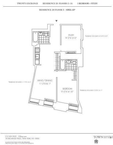 20 Exchange Place, Unit 1024 Image #1