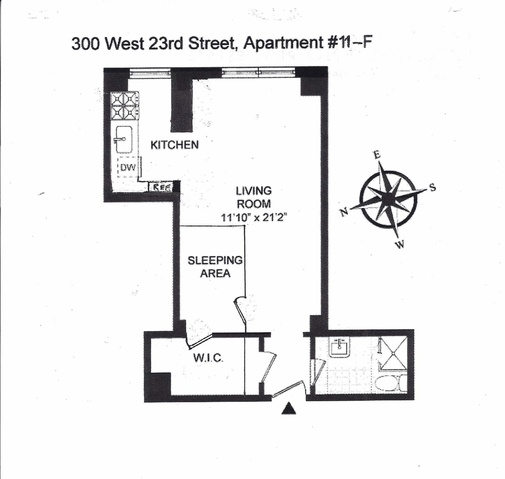 300 West 23rd Street, Unit 11F Image #1