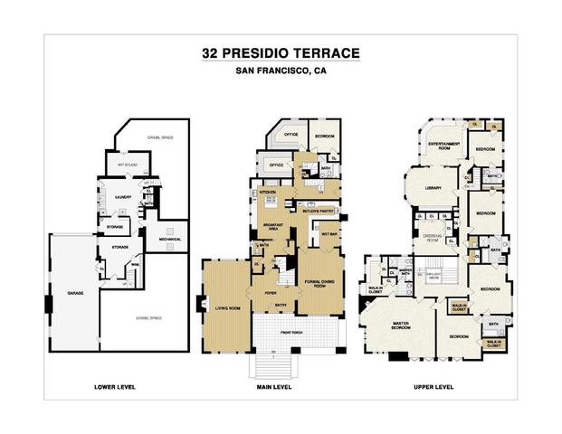 32 Presidio Terrace San Francisco, CA 94118