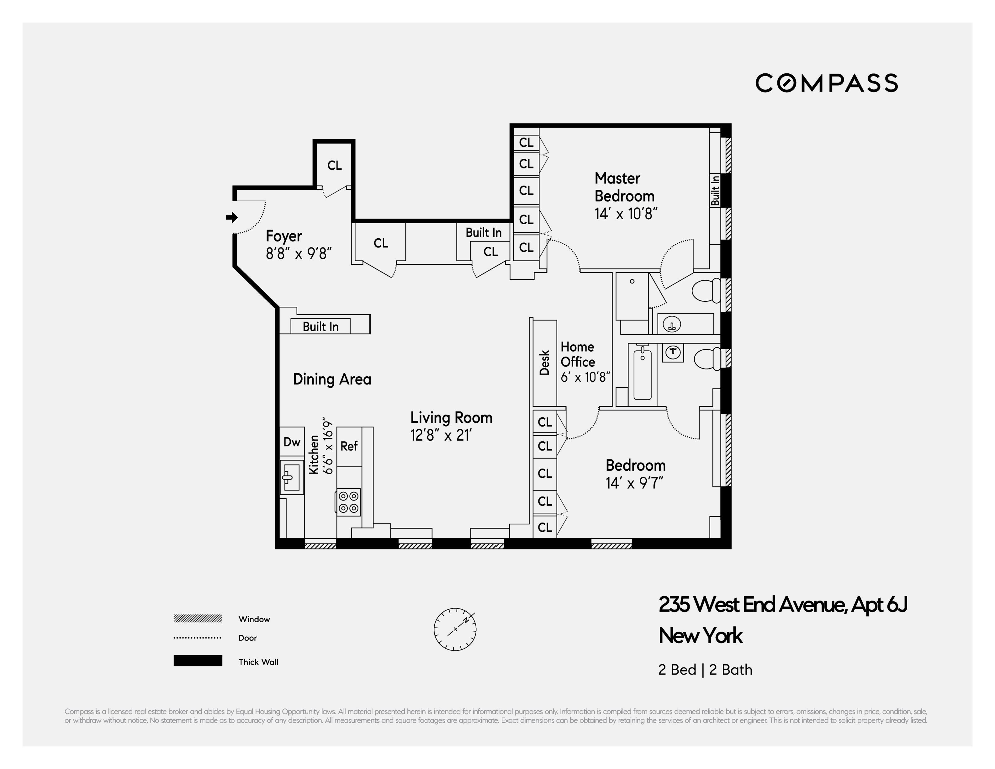 235 west end avenue unit 6j manhattan ny 10023 compass rh compass com