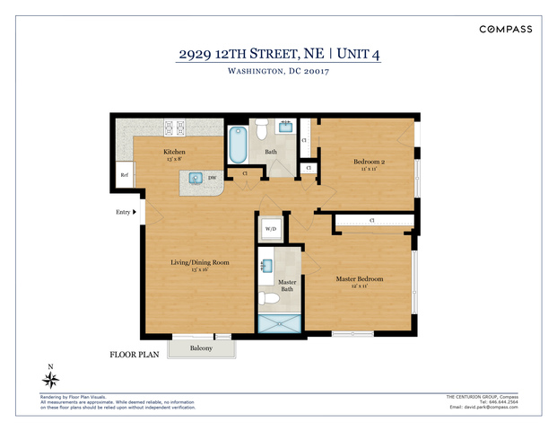 2929 12th Street Northeast, Unit 202 Washington, DC 20017