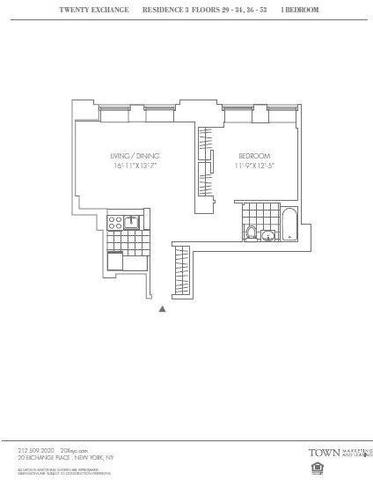 20 Exchange Place, Unit 3903 Image #1