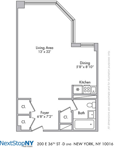 200 East 36th Street, Unit 17D Image #1