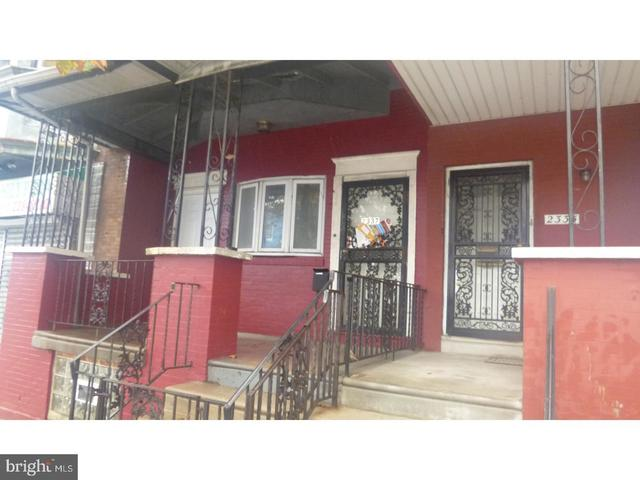 2337 West Lehigh Avenue, Unit 3 Philadelphia, PA 19132