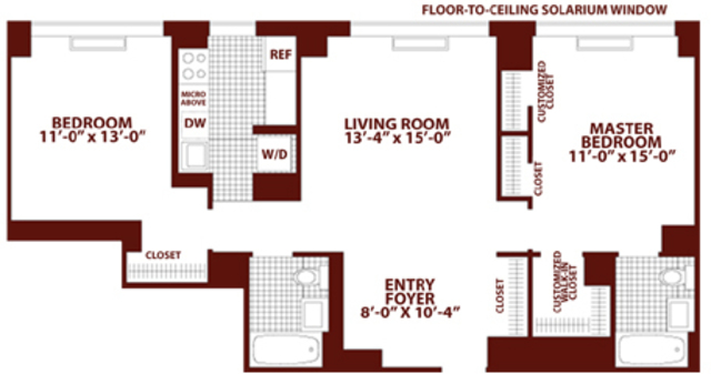 130 West 15th Street, Unit PHA Image #1