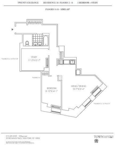 20 Exchange Place, Unit 918 Image #1