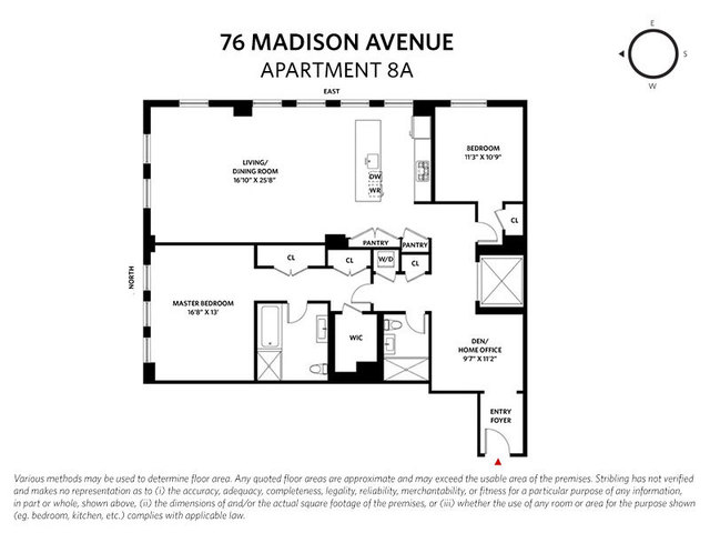 76 Madison Avenue, Unit 8A Manhattan, NY 10016