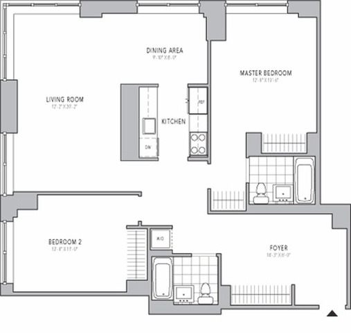 211 North End Avenue, Unit 10K Image #1