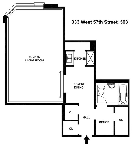 333 West 57th Street, Unit 503 Manhattan, NY 10019