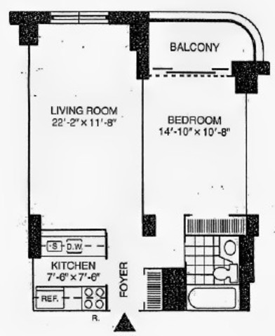 380 Rector Place, Unit 10C Image #1