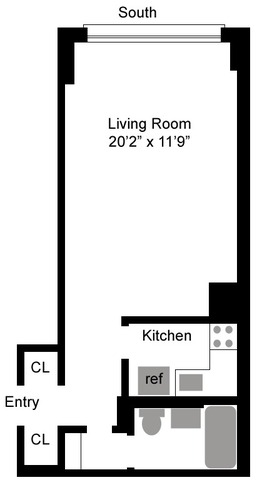 430 West 34th Street, Unit 10C Image #1