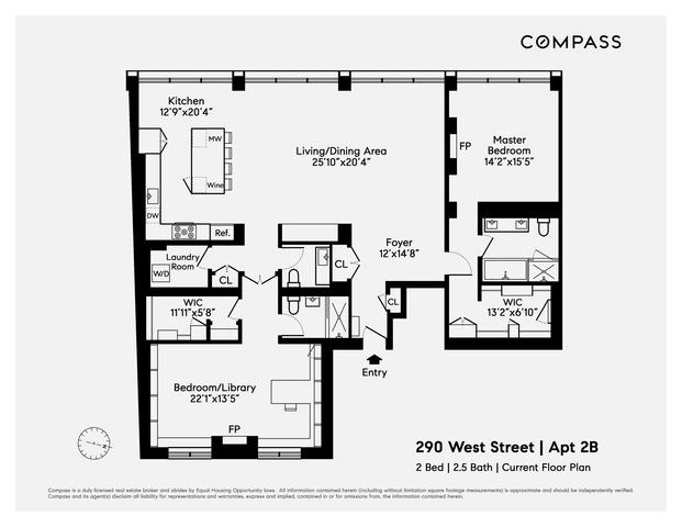 290 West Street 2-B Tribeca New York NY 10013