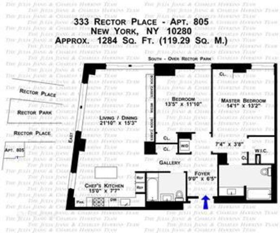 333 Rector Place, Unit 805 Image #1
