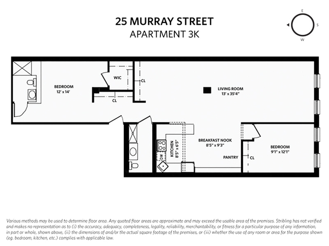 25 Murray Street, Unit 3K Manhattan, NY 10007