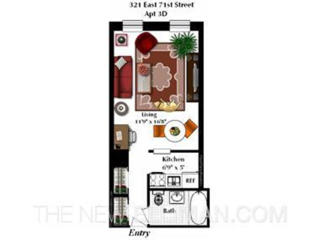 321 East 71st Street, Unit 3D Image #1