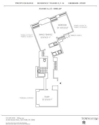 20 Exchange Place, Unit 1307 Image #1