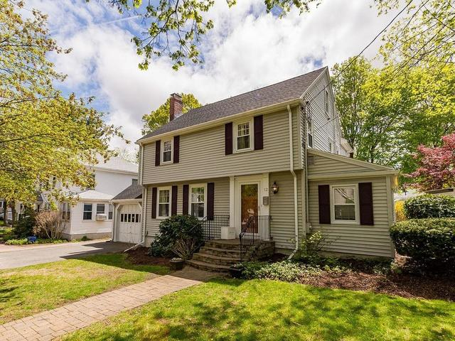 12 Hallron Road Newton Lower Falls, MA 02462