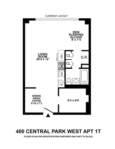 400 Central Park West, Unit 1T Manhattan, NY 10025