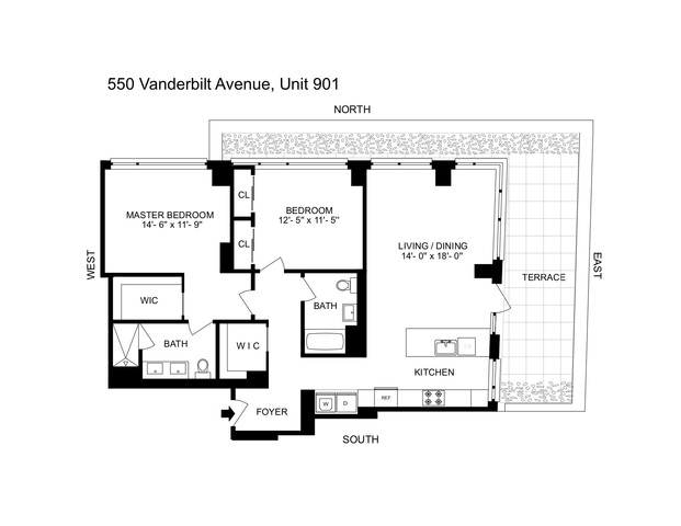 550 Vanderbilt Avenue, Unit 901 Brooklyn, NY 11238