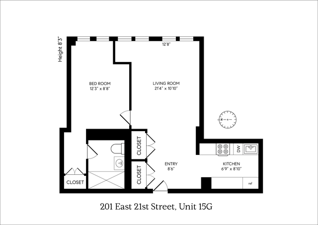 201 East 21st Street, Unit 15G Manhattan, NY 10010