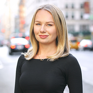 Elina Diemer,                     Agent in NYC - Compass