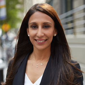 Sabina Sangha,                     Agent in NYC - Compass