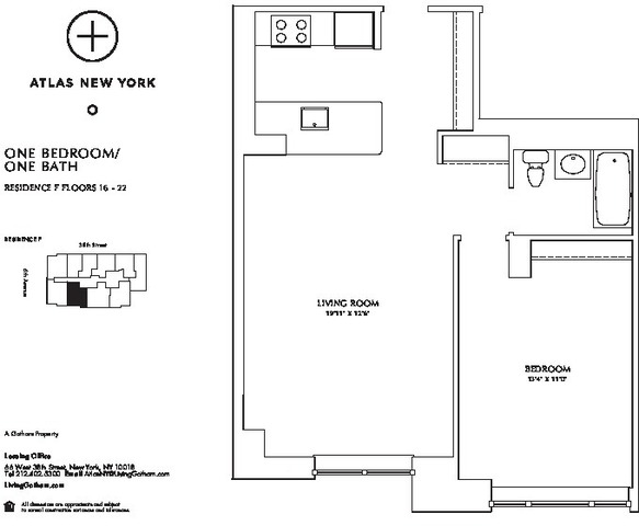 66 West 38th Street, Unit 120F Image #1
