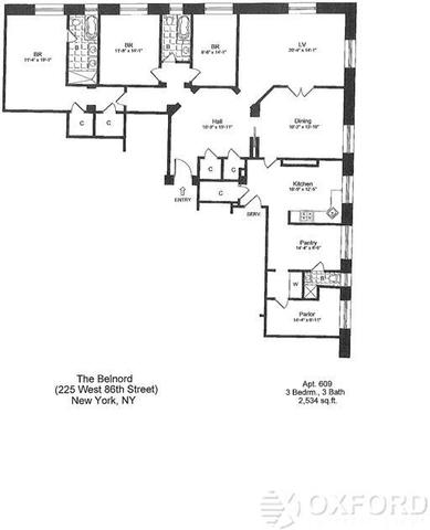 225 West 86th Street, Unit 609 Image #1
