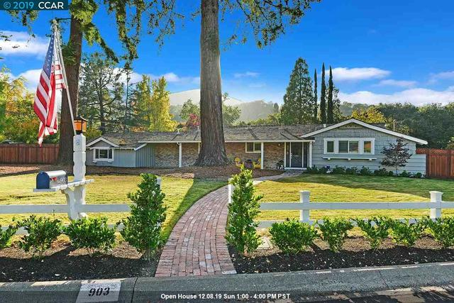 903 Forest Lane Alamo, CA 94507