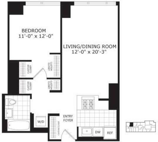 450 West 42nd Street, Unit 17P Image #1