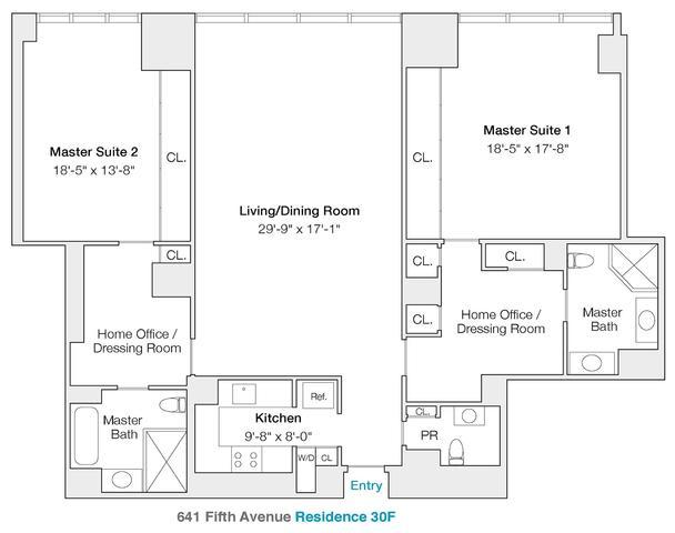 641 5th Avenue, Unit 30F Midtown East, Manhattan, NY 10022  Th Floor Suites Home Plans on 2 floor log homes, 2 floor decor, 2 floor kitchen, 2 floor building, 2 floor design, 2 floor office layout, 2 floor blueprints, 2 floor cabin,