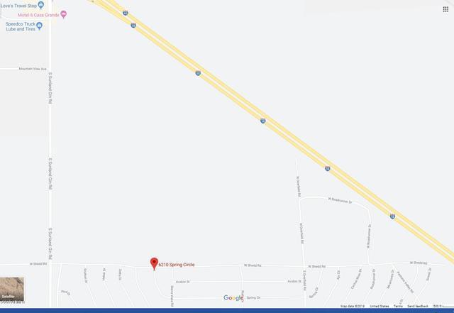 Map Of Eloy Arizona.6210 West Spring Circle Eloy Az 85131