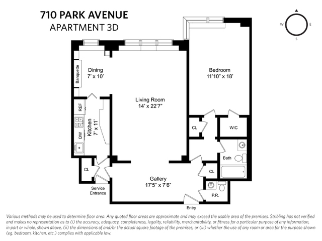 710 Park Avenue, Unit 3D Manhattan, NY 10021