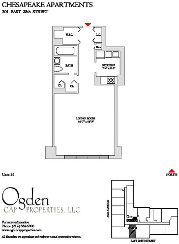 201 East 28th Street, Unit 11H Image #1