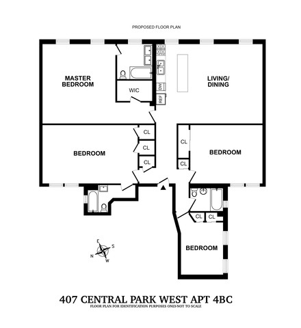 407 Central Park West, Unit 4BC Manhattan, NY 10025